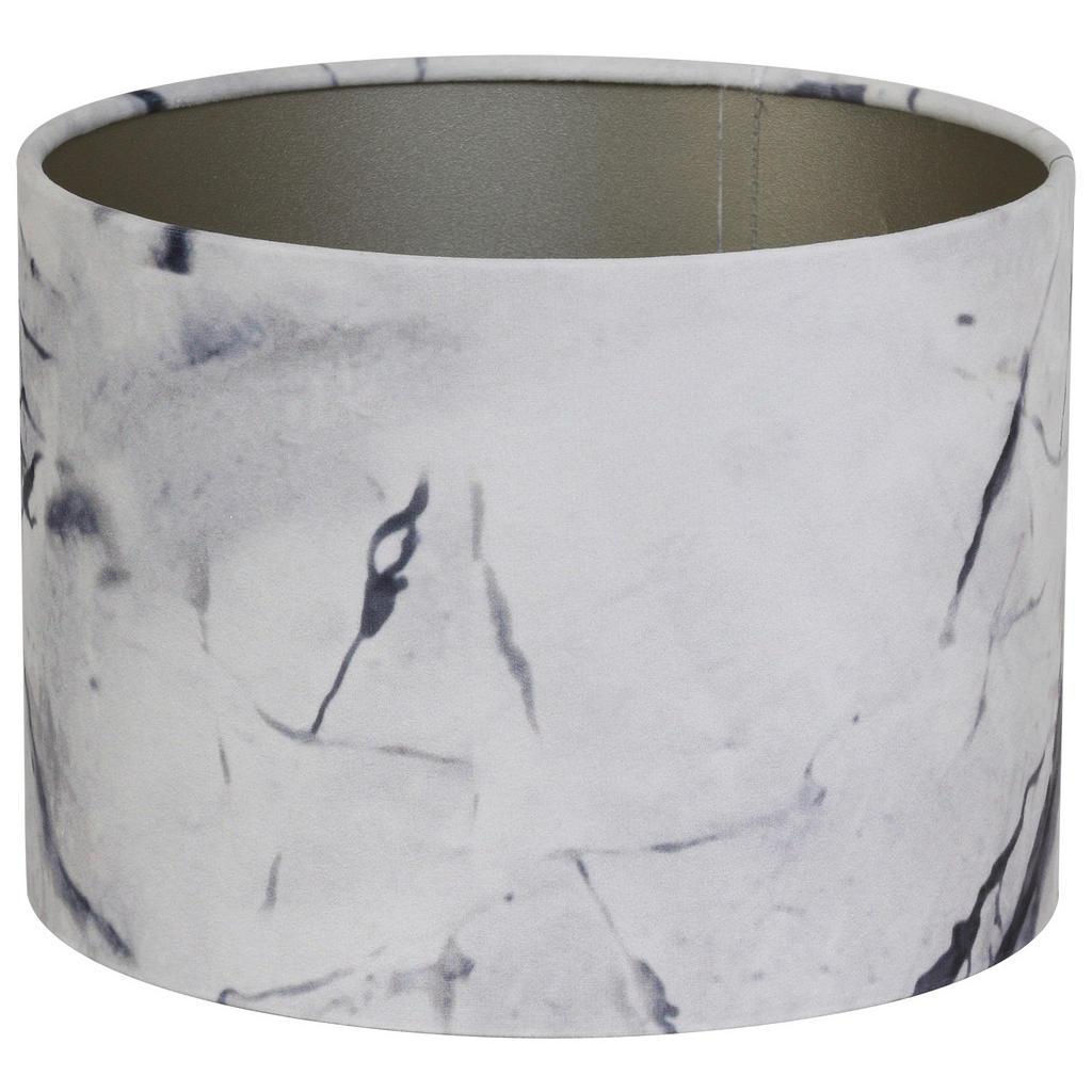 XXXLutz Leuchtenschirm grau textil