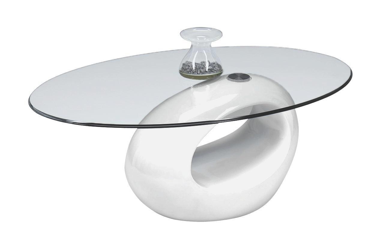 SOFFBORD - vit, Design, glas/plast (115/42/65cm) - XORA