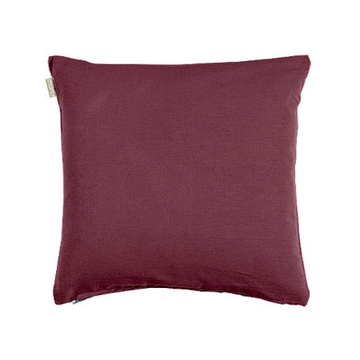 KISSENHÜLLE Aubergine 40/40 cm - Aubergine, Basics, Textil (40/40cm) - LINUM