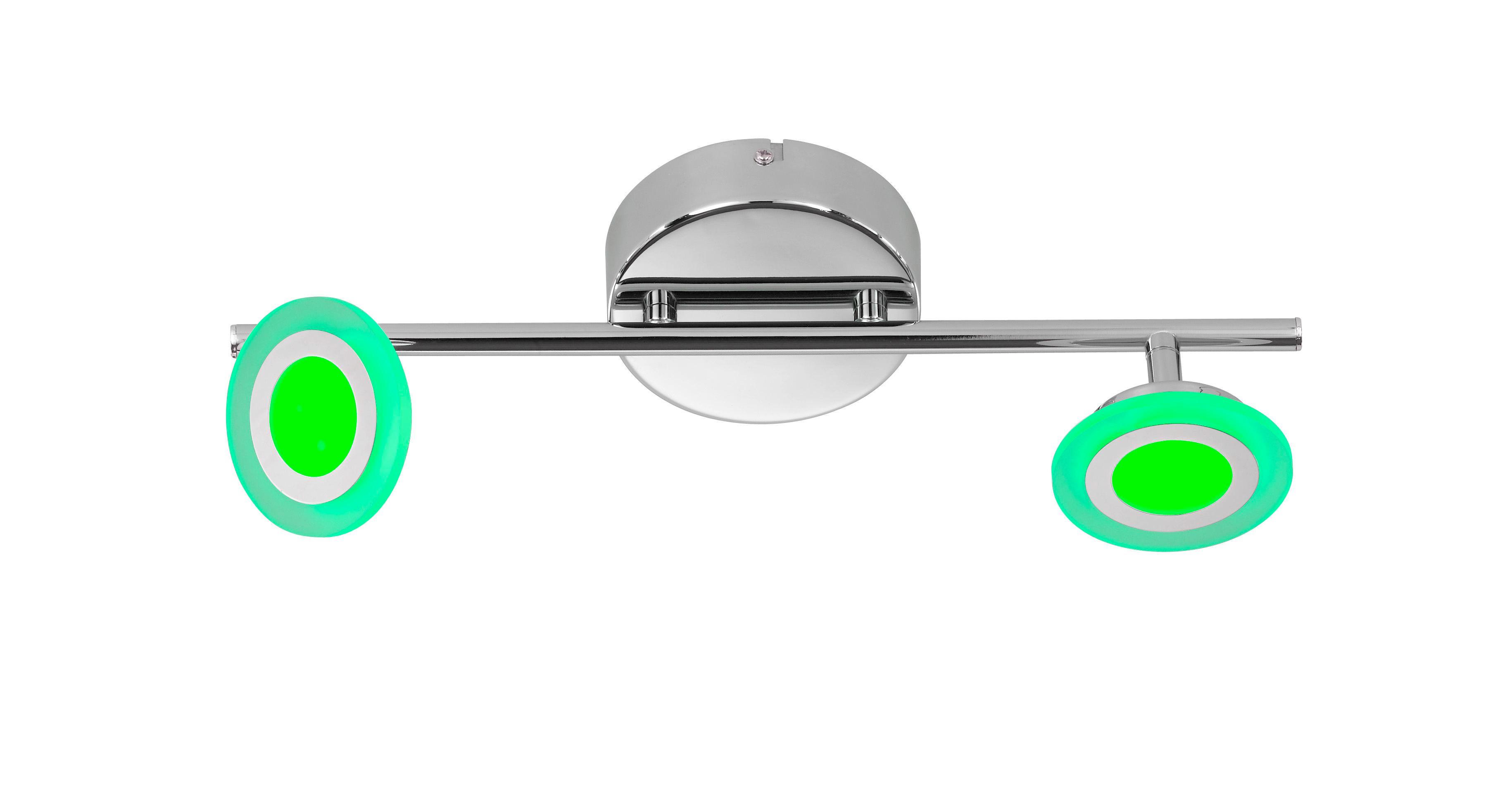 LED-STRAHLER - Design, Kunststoff/Metall (41/12/14cm)