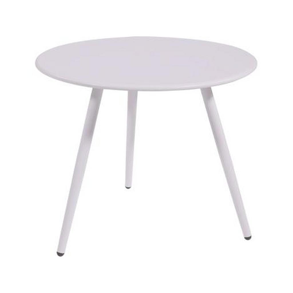 XXXL BEISTELLTISCH rund Weiß   Wohnzimmer > Tische > Beistelltische   Weiß   Metall