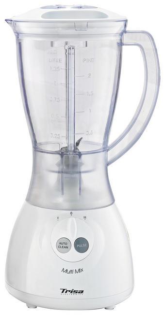 TRISA STANDMIXER MULTI MIX - Weiß, Basics, Glas/Kunststoff (16/16/65cm)