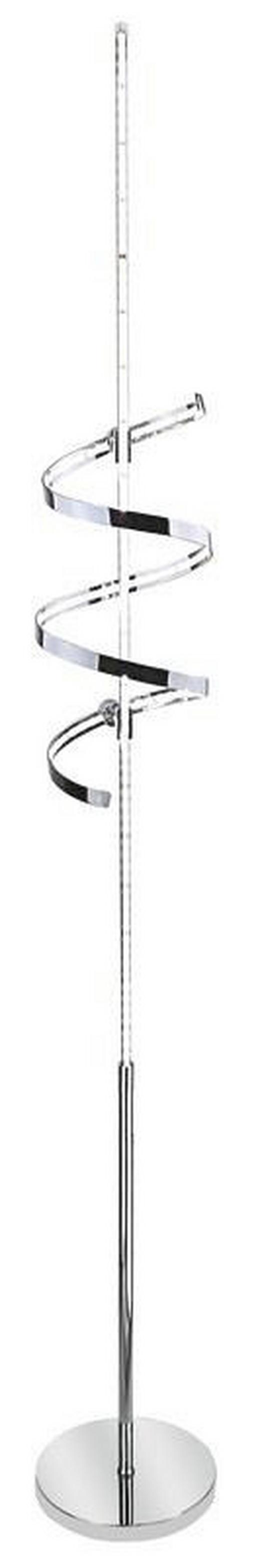 LED-STEHLEUCHTE - Chromfarben, Design, Kunststoff/Metall (20/150cm)