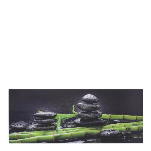 Steine, Zen Glasbild