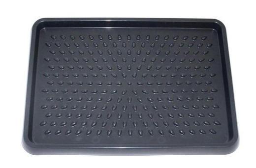SCHUHABLAGE in Schwarz 54/38,5 cm - Schwarz, Basics, Kunststoff (54/38,5cm)