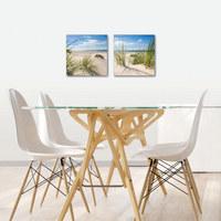 Landschaft & Natur, Strand & Meer GLASBILD - Multicolor, Basics, Glas (30/60/1,7cm) - EUROGRAPHICS