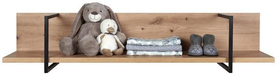 WANDBOARD  - Eichefarben, Trend, Holzwerkstoff (120/19,2/19,5cm) - My Baby Lou