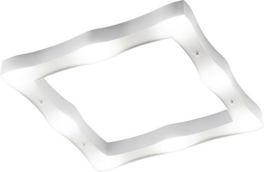 LED-DECKENLEUCHTE - Silberfarben, LIFESTYLE, Metall (56/56/6,2cm)