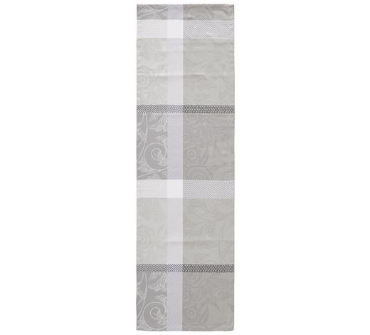 UBRUS 'BĚHOUN' NA STŮL, 40/140 cm, šedá - šedá, Konvenční, textil (40/140cm) - Esposa