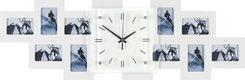 FOTOKLOCKA - vit, Basics, trä/glas (80/26/4,8cm) - Boxxx