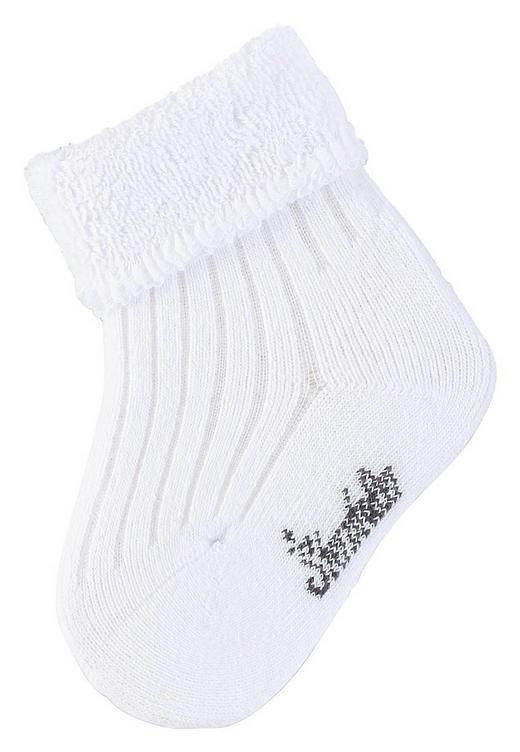 SOCKEN - Weiß, Basics, Textil (14) - Sterntaler