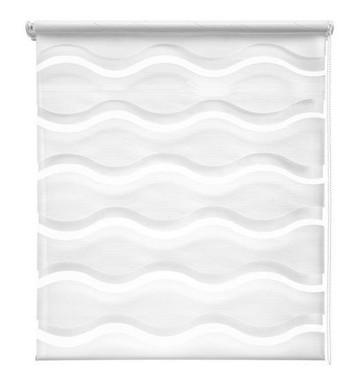 DUOROLLO  halbtransparent   80/210 cm - Weiß, Design, Kunststoff (80/210cm) - Homeware