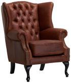 KŘESLO - hnědá, Basics, dřevo/dřevěný materiál (83/103/87cm) - AMBIA HOME
