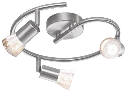 STRAHLER - Nickelfarben, Design, Kunststoff/Metall (30/30/10cm) - NOVEL