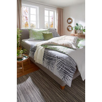 BETTWÄSCHE 140/200 cm - Naturfarben/Grün, Design, Textil (140/200cm) - ESPOSA