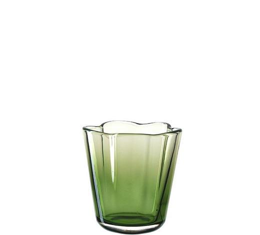 WINDLICHT - Grün, Basics, Glas (16cm) - Leonardo