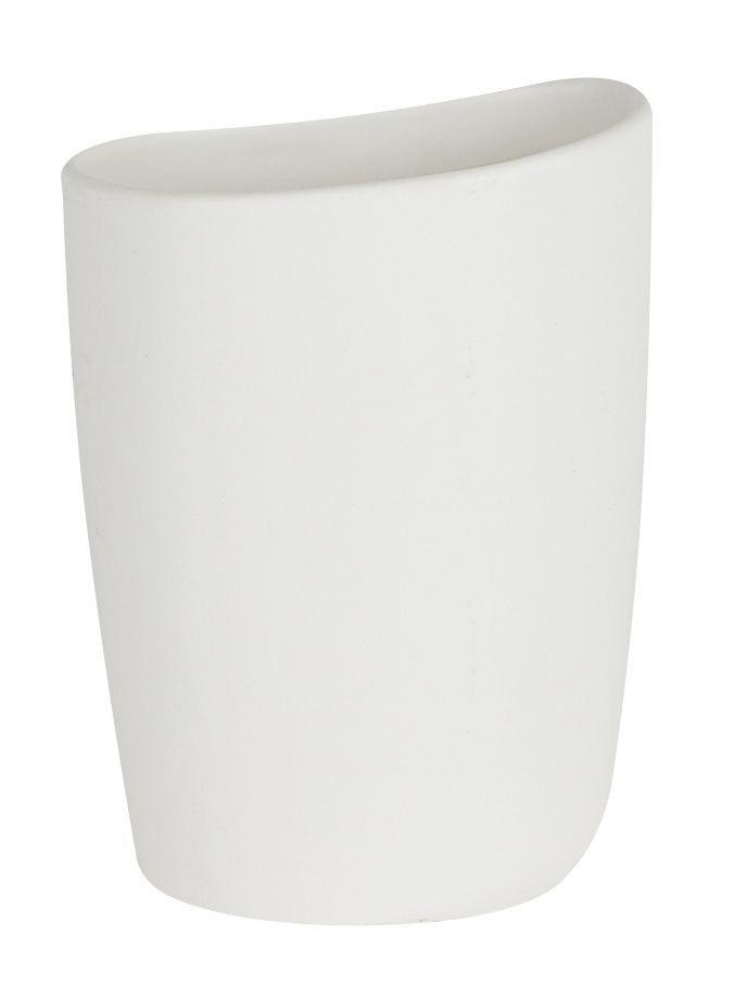 ZAHNPUTZBECHER - Weiß, Basics (13cm)