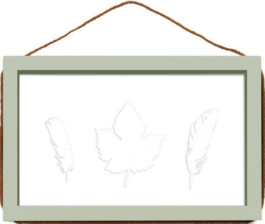 WECHSELRAHMEN  Jadegrün - Jadegrün, Basics, Glas/Holz (23/36/2cm)