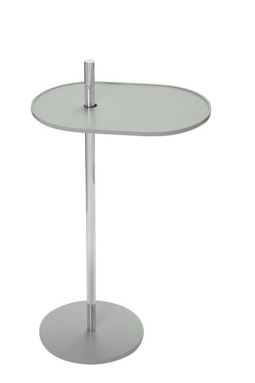 BEISTELLTISCH Grau - Grau, Design, Metall (39/70/25cm) - Carryhome