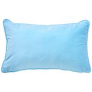 ZIERKISSEN 30/50 cm - Hellblau, Basics, Textil (30/50cm) - NOVEL