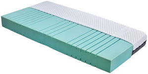 Kaltschaummatratze Homestar 90x200cm H4 - Weiß, Textil (90/200cm) - Primatex