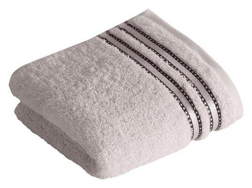 GÄSTETUCH 30/50 cm - Hellgrau, Basics, Textil (30/50cm) - VOSSEN