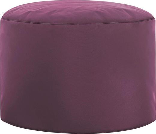POUF Aubergine - Aubergine, Design, Textil (50/30cm) - Carryhome