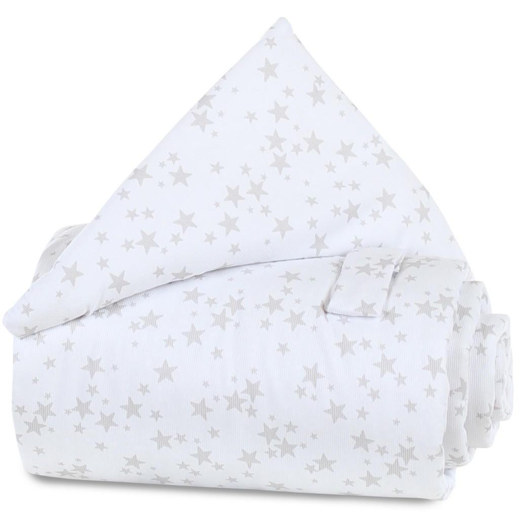 Babybay Verschlussgitterschutz pique babybay grau