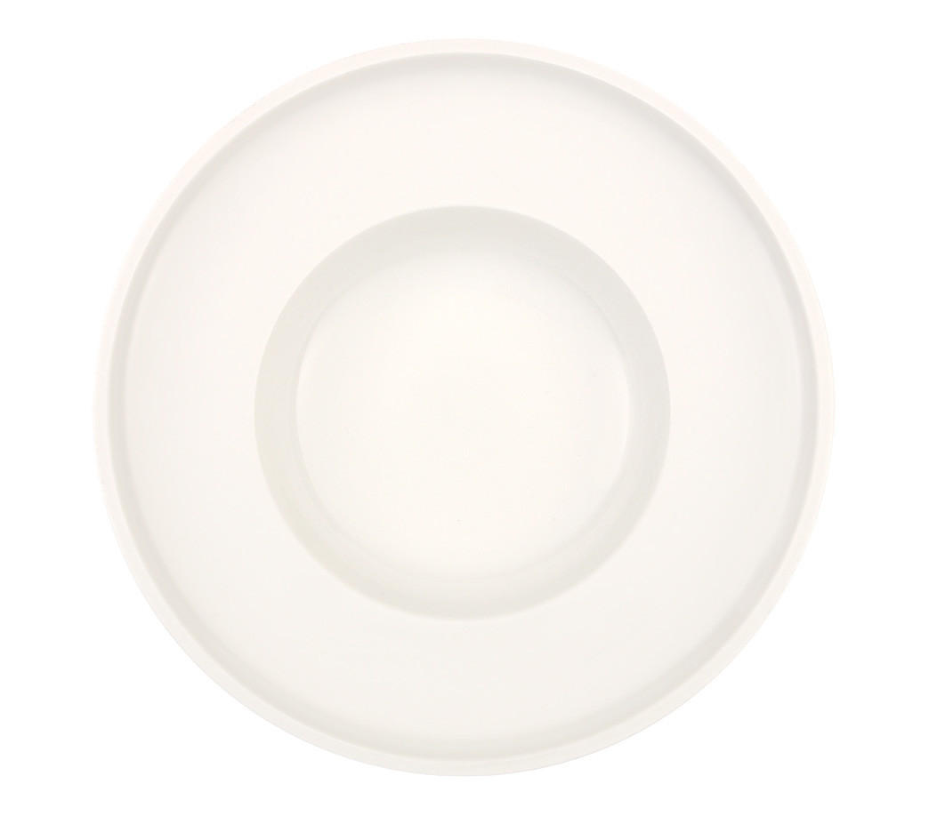 KROŽNIK ZA TESTENINE - bela, Basics, keramika (30cm) - VILLEROY & BOCH