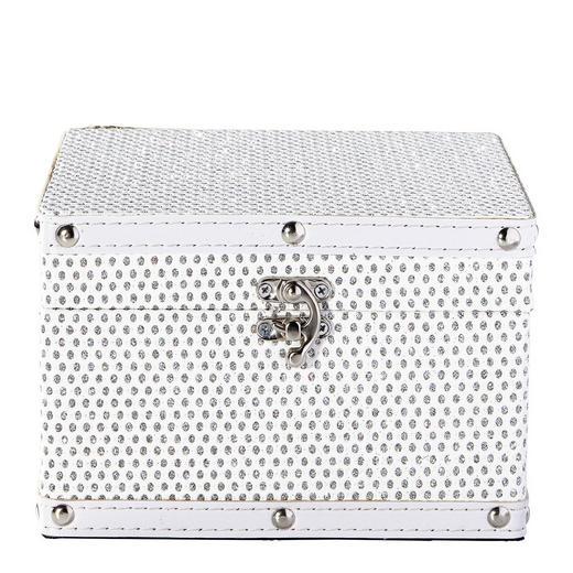 DEKOBOX - Weiß, Basics, Holz/Kunststoff (18/12/18cm) - Ambia Home
