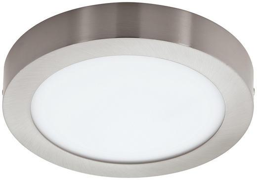 AUFBAULEUCHTE - Nickelfarben, Design, Kunststoff/Metall (25/3,5cm)