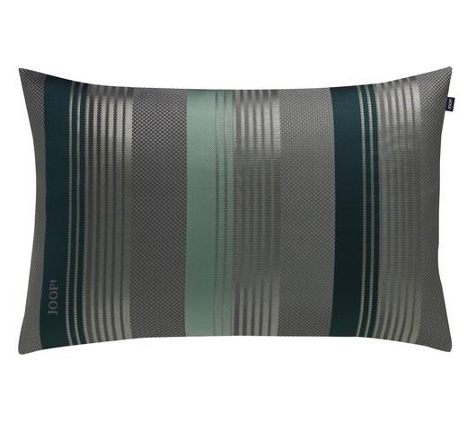 KISSENHÜLLE Grau, Grün, Hellgrün 38/58 cm  - Hellgrün/Grau, Design, Textil (38/58cm) - Joop!