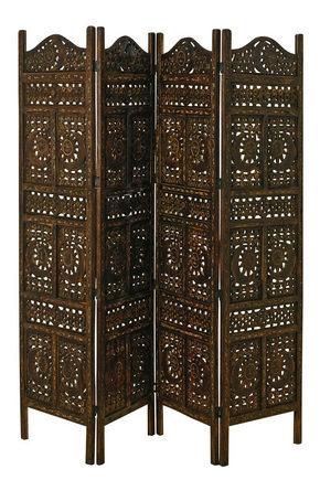 VIKVÄGG - mörkbrun, Lifestyle, trä (200/180cm)
