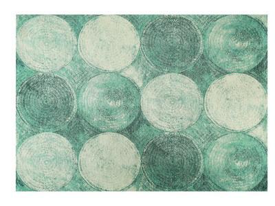 VINTAGE MATTA 120/180 cm  - blå, Design, textil (120/180cm) - Novel