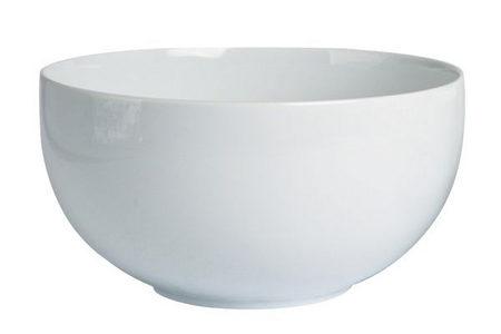 SKÅL - vit, Basics, keramik (21cm) - Novel