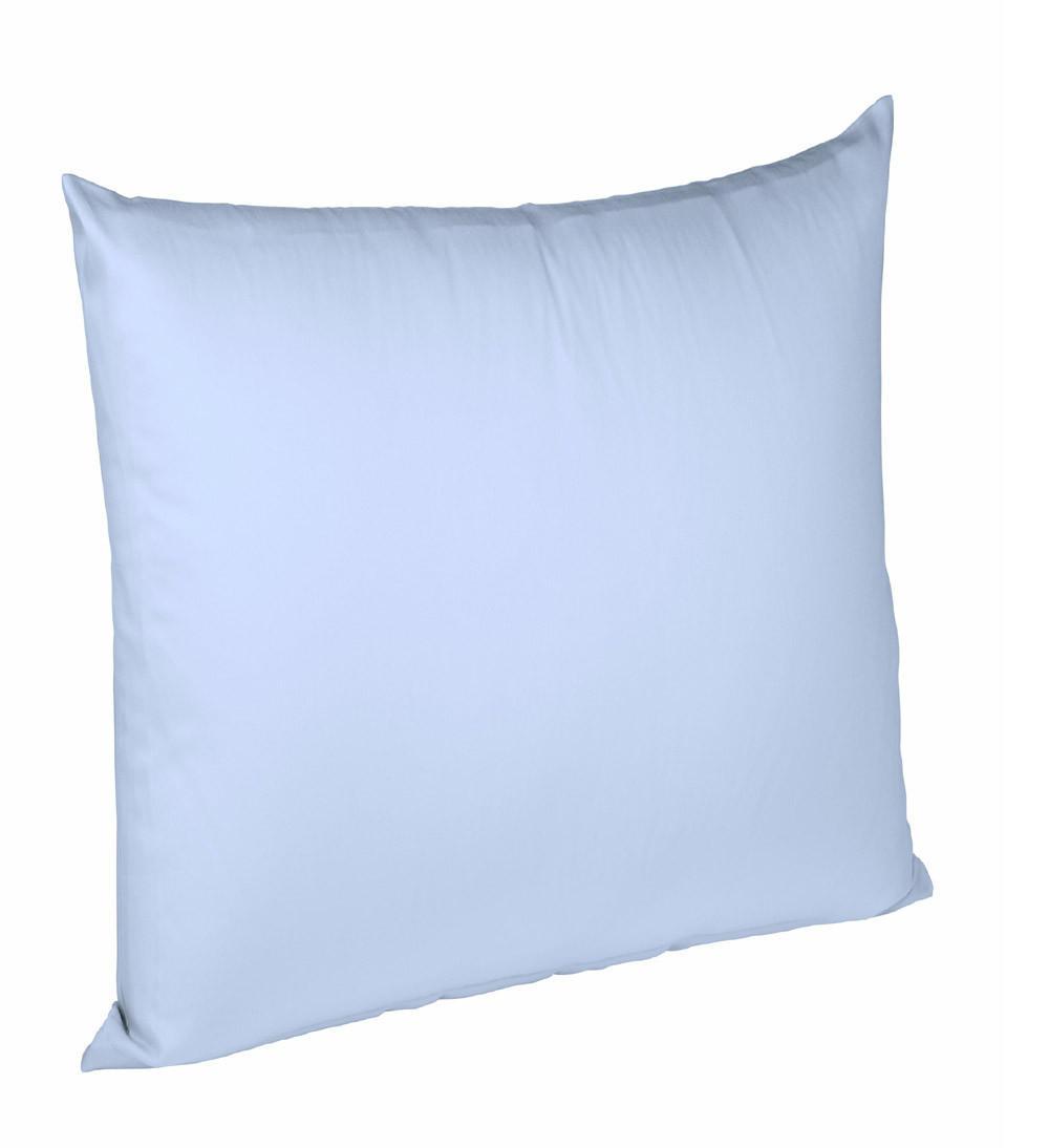 KISSENHÜLLE Hellblau 80/80 cm - Hellblau, Basics, Textil (80/80cm) - FLEURESSE