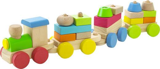 SPIELZUG - Multicolor, Basics, Holz (40/8/6cm) - My Baby Lou