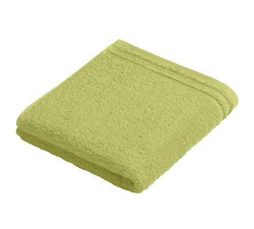 RUČNÍK, 50/100 cm, světle zelená - světle zelená, Basics, textil (50/100cm) - Vossen