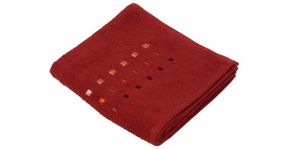 HANDTUCH 50/100 cm Terra cotta  - Terra cotta, KONVENTIONELL, Textil (50/100cm) - Esposa