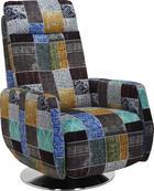 RELAXAČNÍ KŘESLO - vícebarevná/barvy nerez oceli, Design, kov/textilie (68/110/88cm) - Beldomo Style