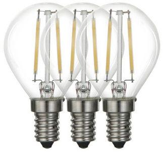 LED SIJALICA - Prozirna, Osnovno, Metal/Staklo (4,5/7,6cm) - Boxxx