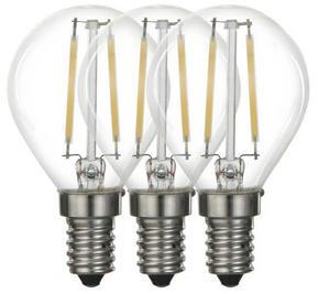 LED - klar, Basics, metall/glas (4,5/7,6cm) - Boxxx