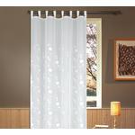 Vorhang mit Schlaufen und Band Helene B: 135cm, Weiß - Weiß, ROMANTIK / LANDHAUS, Textil (135/255cm) - James Wood