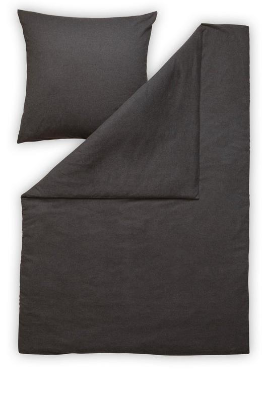 BETTWÄSCHE Flanell Anthrazit - Anthrazit, Basics, Textil (135/200cm) - Estella