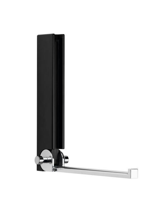 WANDHAKEN - Schwarz, Design, Holz (15/18/5cm) - Carryhome