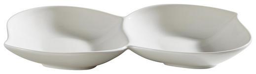 DIPSCHALE Keramik Porzellan  - Weiß, Basics, Keramik (24/12/5cm) - Novel