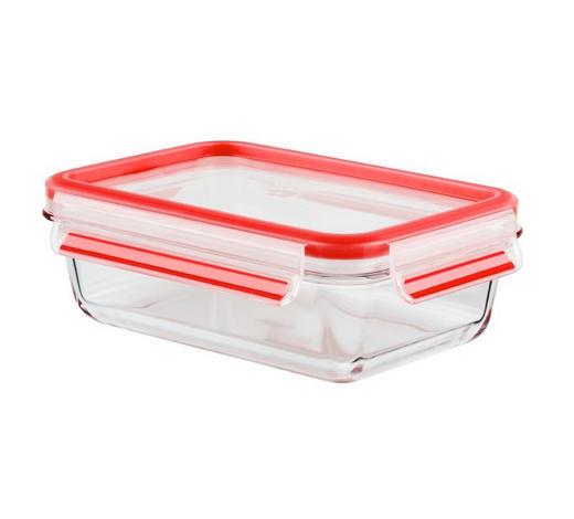 POSODA ZA SHRANJEVANJE 1,3 L - rdeča, Basics, umetna masa/steklo (1,3l) - Tefal
