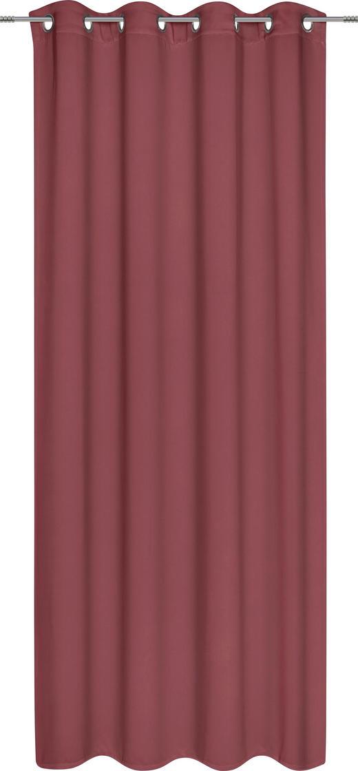 ÖSENSCHAL   140/245 cm - Weinrot, Design, Textil (140/245cm) - Esposa