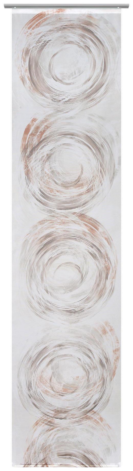 FLÄCHENVORHANG in Terra cotta - Terra cotta, Design, Textil (60/255cm) - Novel