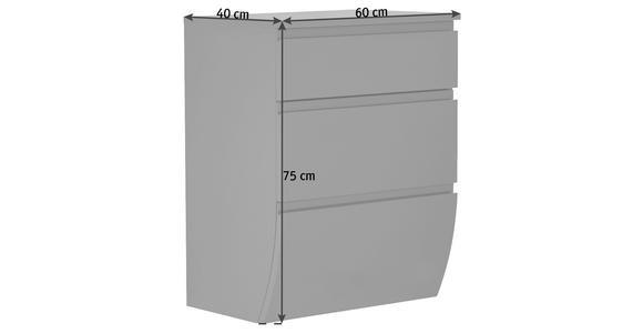MIDISCHRANK 60/75/40 cm  - Anthrazit, Basics, Holzwerkstoff (60/75/40cm) - Dieter Knoll